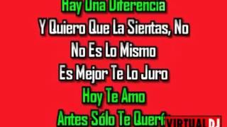 Adan Romero Solo un dia Karaoke E