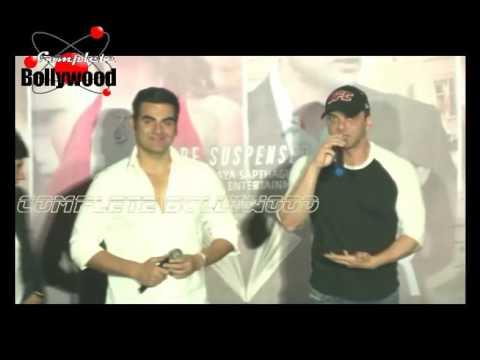 Gauahar Khan, Rajeev Khandelwal, Arbaaz & Sohail Khan at Trailer Launch of 'Fever'