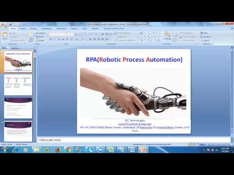RPA-Automation Anywhere Online Training--Bot Explanation RTL Technologies--7093339062