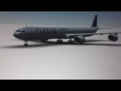 Lol qatar 346 vertical landing