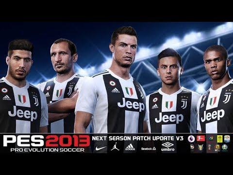 PES 2013 Next Season Patch 2019 Update v3 0