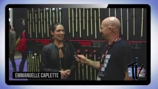 Emmanuelle Caplette Interview 2016