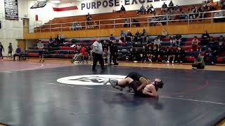 Dylan Burns vs Barry Goldwater (160lbs)