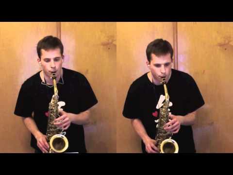 Saxophone Duet - J.S. Bach Invention