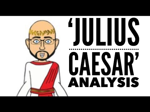 antony julius caesar character traits