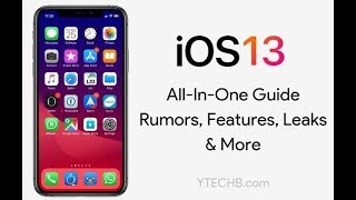 Apple iOS 13  | Supported Devices | New Features English