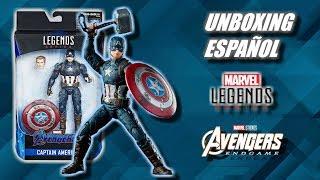 Unboxing/Review: Marvel Legends Capitán América Digno - Avengers Endgame - Exclusivo Walmart