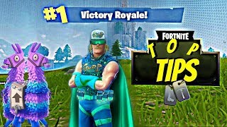 How To Get A Victory Royale! FORTNITE Top Tips and Tricks for Beginners. *NEVER LOSE*