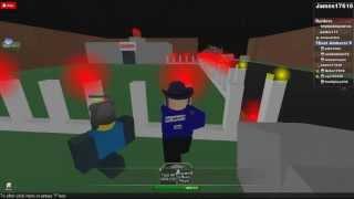 EAST AMHERST POLICE ROBLOX RAID 1 EMT VS EAPD