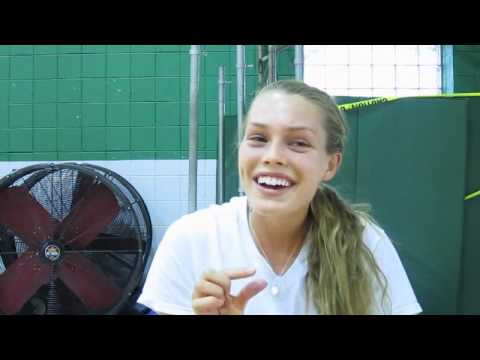 Nerinx Hall High School senior distance runner Collen Quigley interview, May 3, 2011