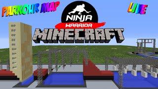 'NINJA WARRIOR!' - Parkour - Minecraft