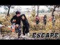 Nerf War: SWAT & Warrior Woman Nerf Guns Bank robbery Rescue Girl escape Nerf Movie