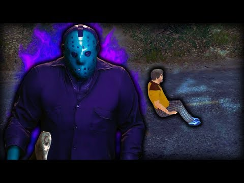 DLC RETRO JASON + INVISIBLE CAR GLITCH | Friday the 13th Game