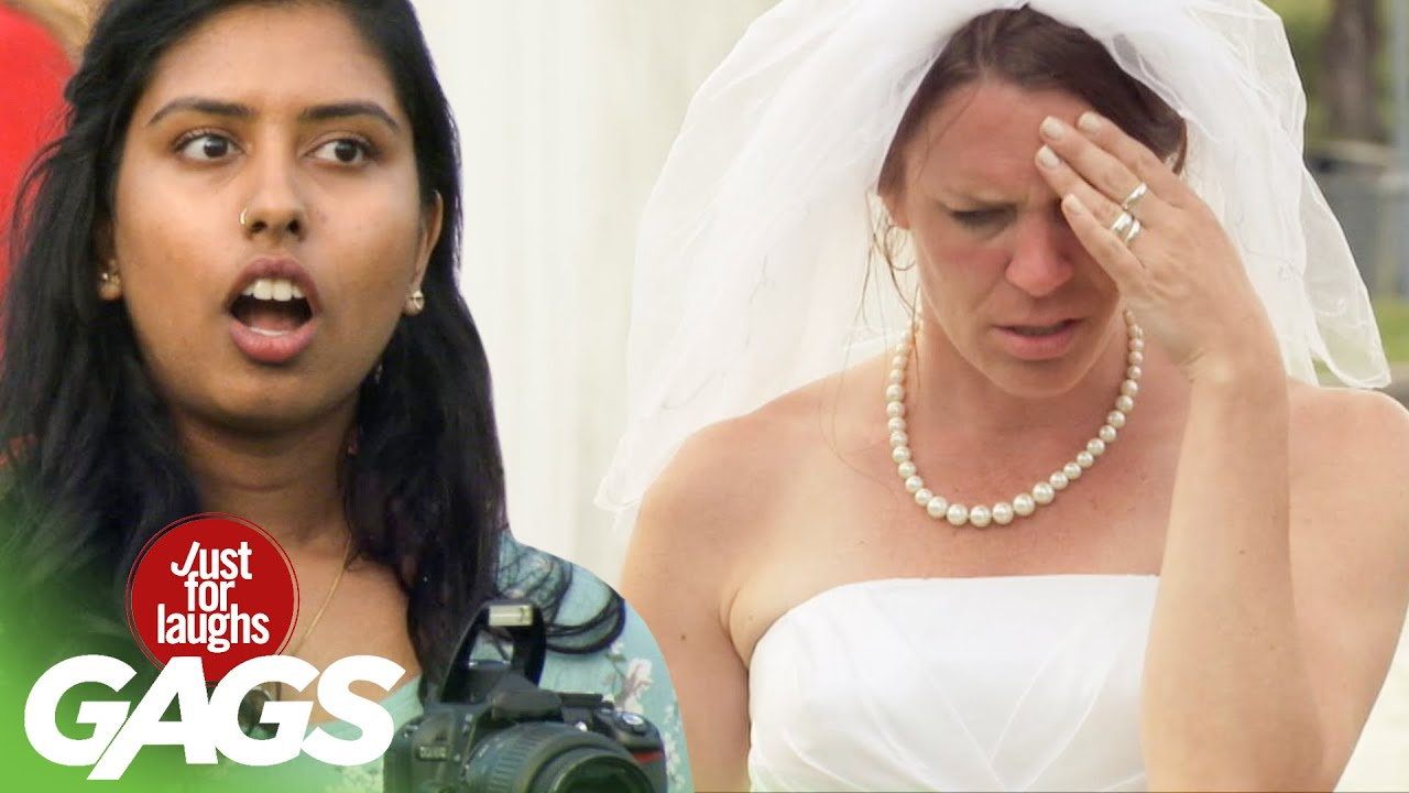 Bride Gets Her Wedding Photos Absolutely Ruined