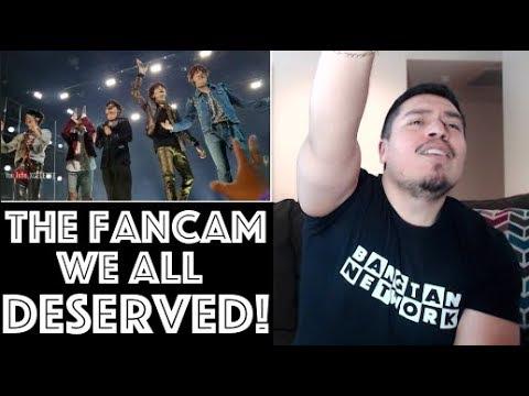 BTS [HD FANCAM] FAKE LOVE BILLBOARD MUSIC AWARDS Reaction