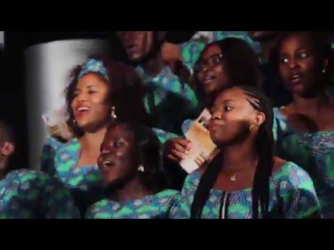 Femi Flame Ashana leading Ondo State Youth Mass Choir to perform Okuku (Divine Agenda)