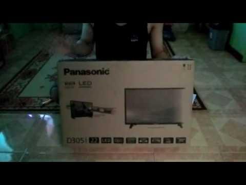 Unboxing TV LED Panasonic TH-22D305G