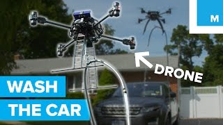 This Drone Can Wash a Car. Sorta.