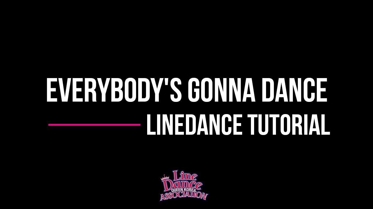 half off f4301 973b5 Everybody's Gonna Dance Line Dance (Improver) Tutorial