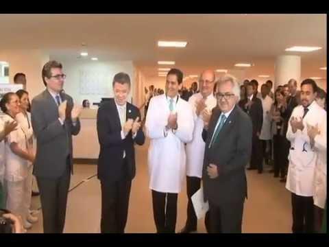 Inauguración Hospital Universitario Nacional de Colombia