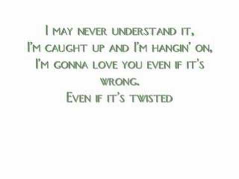 Twisted - Carrie Underwood w/ Lyrics