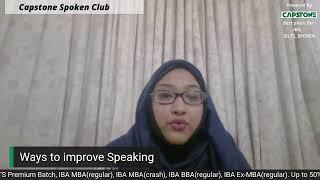 Ways to improve your English Speaking skills!