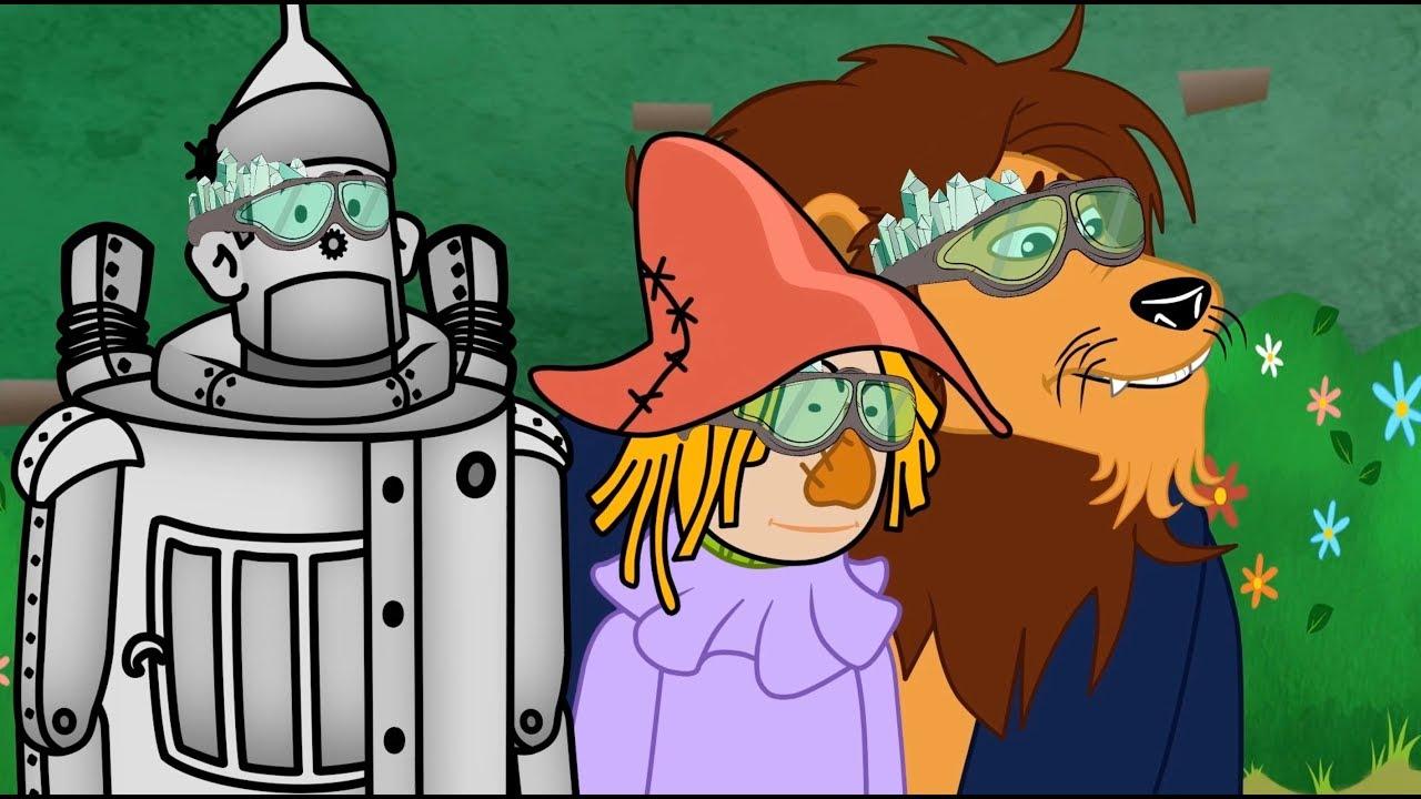 O Magico De Oz Conto E Musicas Desenho Animado Infantil Com Os