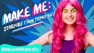 Starfire Makeup Tutorial (Teen Titans Go!) | MAKE ME
