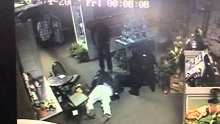 Hilarious drunk couple caught on CCTV