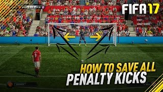HOW TO SCORE PENALTIES IN FIFA 17 EASY! - FIFA 17 PENALTY