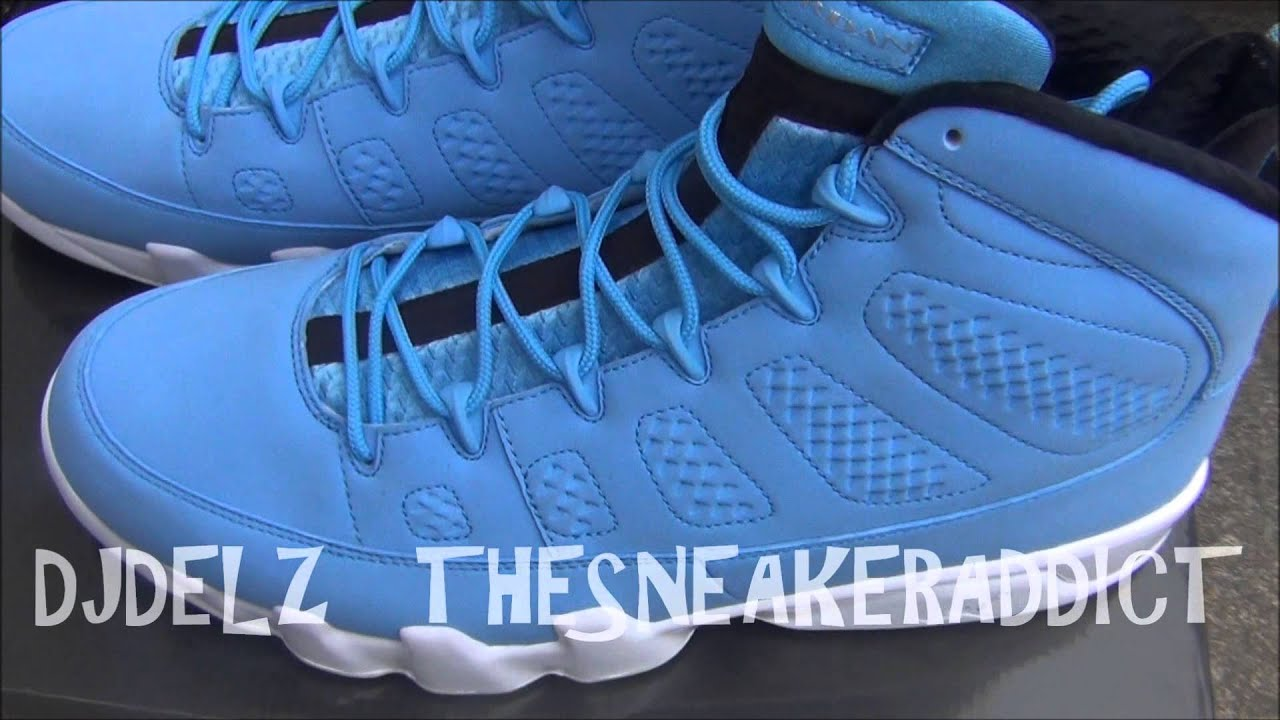 Air Jordan Pantone 9 IX Unreleased Sample FTLOTG Sneaker Review With  DjDelz 2cb3a5c246