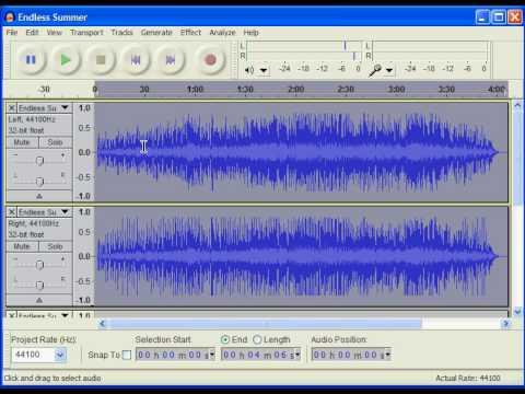 Convertir MP3 a WAV o WAV a MP3 en AUDACITY   Doovi