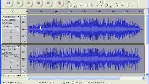converting audio to midside stereo with audacity