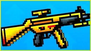 MÓJ ZŁOTY PRZYJACIEL! MITYCZNA BROŃ! | PIXEL GUN 3D PO POLSKU