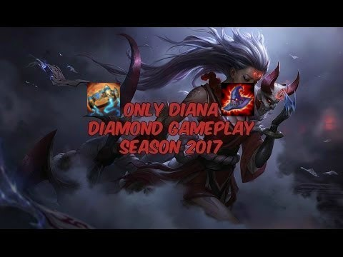 Diana Diamond Mid/Jungle Protobelt Gameplay [NA] - 830k Mastery - Patch 7.11