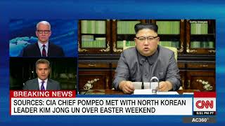 CIA Director Mike Pompeo secretly met with North Korea's Kim Jong Un