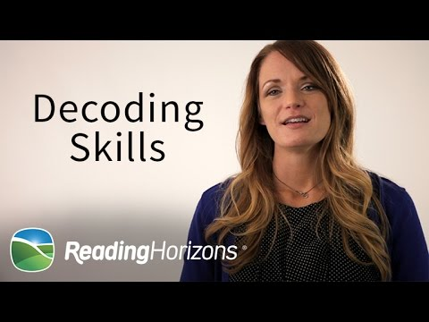 Reading Horizons Method Decoding Skills