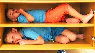 Дети Играют в Прятки в отеле или Устроили Hide and Seek