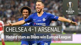 Chelsea vs Arsenal (4-1) | UEFA Europa League Final Highlights