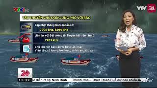 bão Khanun đã vượt Phillipin vào biển Đông, trở thành cơn bão số 11 - Tin Tức VTV24