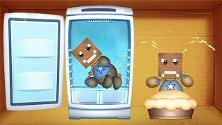 Minecraft Challenge vs Oven Fridgernator   Kick The Buddy