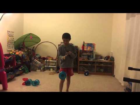 Chinese YoYo beginner trick #13 Hand
