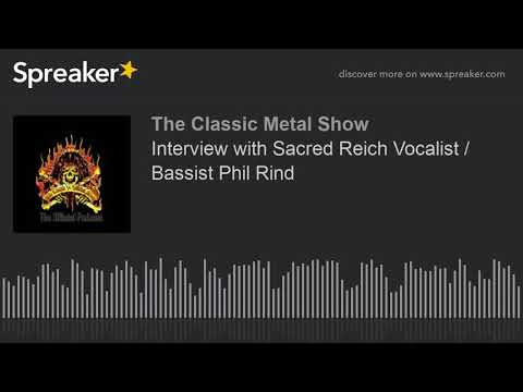Interview with Sacred Reich Vocalist / Bassist Phil Rind
