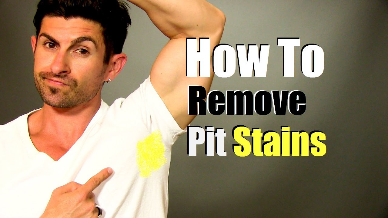 How To Remove Yellow Armpit Stains Quick Easy And Cheap Youtube