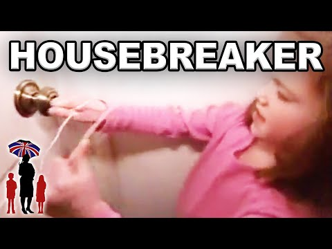 Little Girl Uses Hanger to Break the Door | Funny Kids | Supernanny