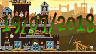 Angry Birds Friends-Torneio dos cavaleiros dos ovos dourados parte 2(19/07/2018)