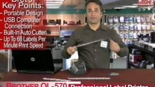 brother ql 570 professional label printer jr com