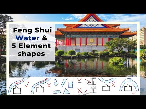 Good Feng Shui Water And The 5 Element Shapes Of The Water