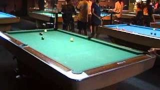 Pool Video at Sharp Shooter - Game 1