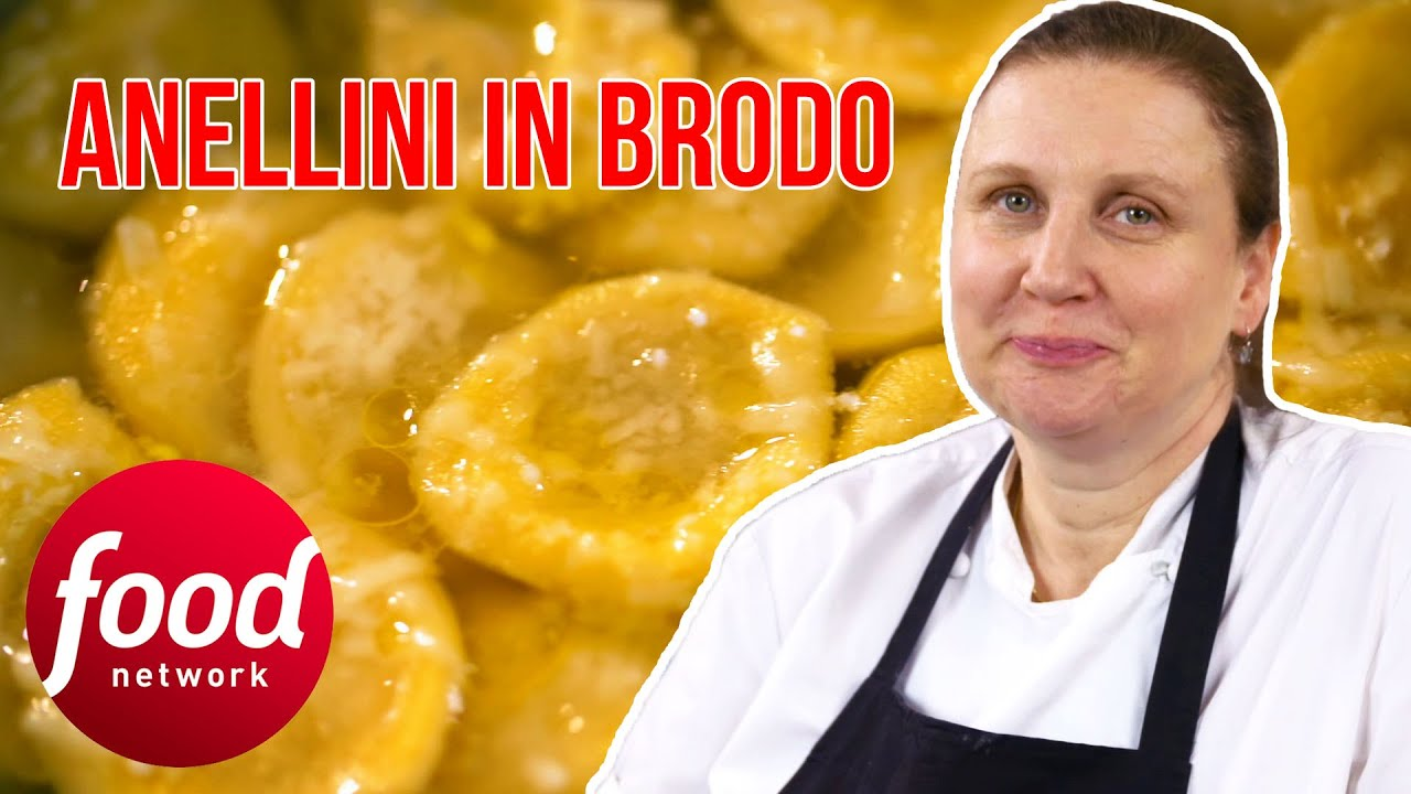 Michelin-Starred Chef Angela Hartnett Makes An Authentic Anellini In Brodo | My Greatest Dishes